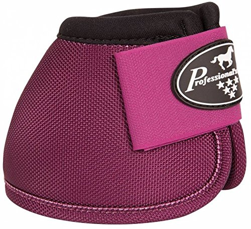 PROFESSIONAL'S CHOICE - BALLISTIC NO TURN OVERREACH BELL BOOTS - ALL COLORS & SIZES (Wine, Medium)