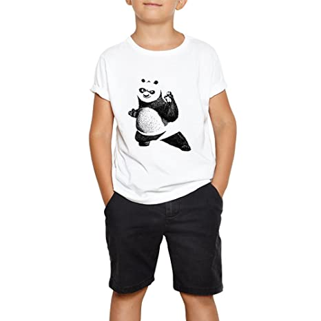 4f7e2210e Buy DreamBag Limit Fashion Store - Kung - Fu Panda Kids T- Shirt(Boys Girls)  Online at Low Prices in India - Amazon.in