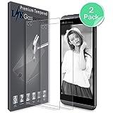 [2 Pack] LG Q8 Pellicola Protettiva, LK Protezione Schermo Vetro Temperato Screen Protector [Garanzia di Sostituzione a Vita]