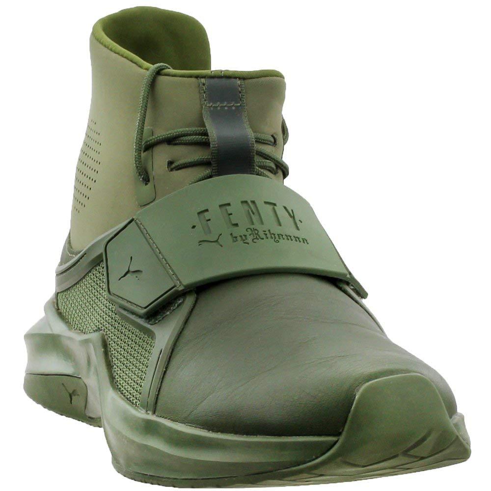 PUMA Women's Fenty X High Top Trainer Sneakers, Cypress, 6 B(M) US
