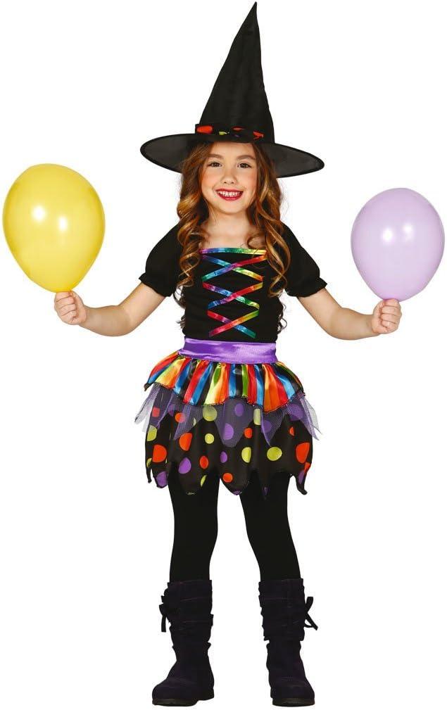 Guirca- Disfraz de bruja, Multicolor, 3-4 años (83101): Amazon.es ...