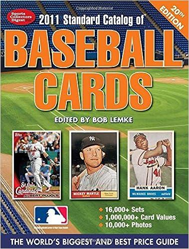 2011 Standard Catalog Of Baseball Cards Standard Catalog Of Vintage
