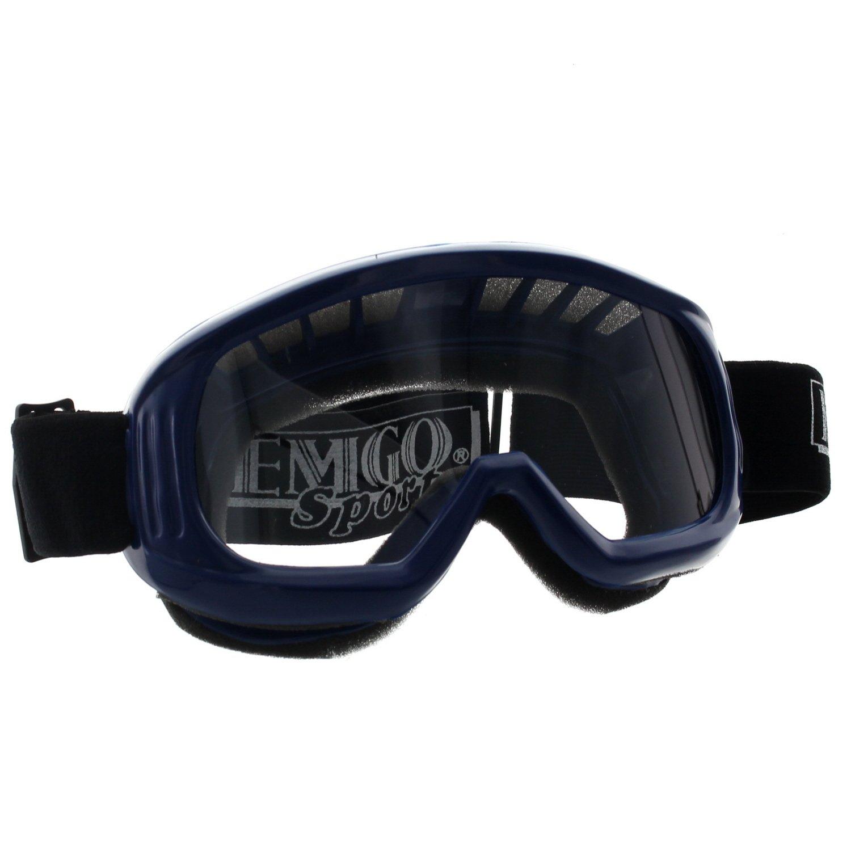 Emgo Sports New Quality ATV UTV Snowmobile Blue Riding Googles, B1061