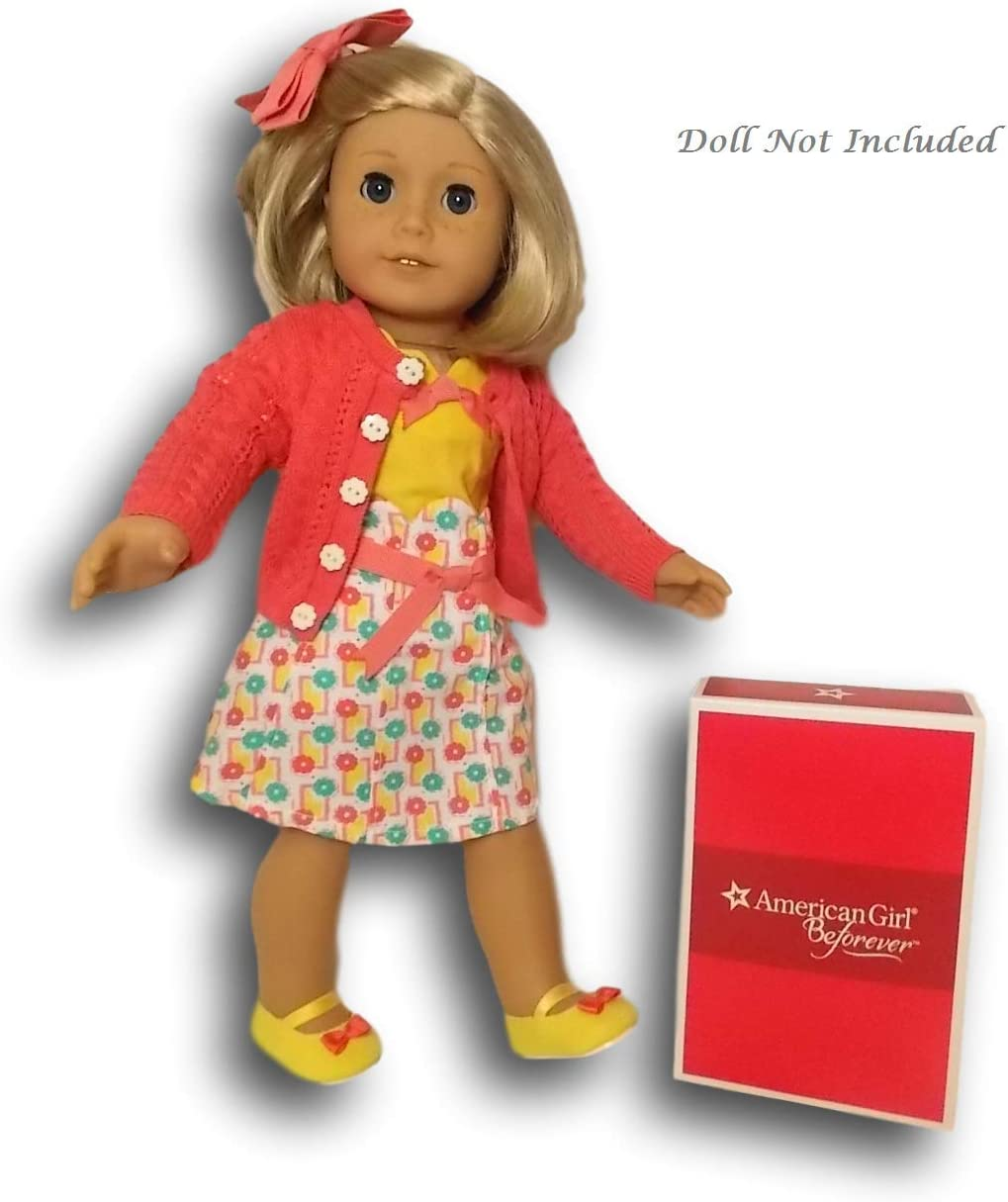 Fit For 18/'/' American Girl Sweater Photographer Dress Outfit Doll Beforever Kits