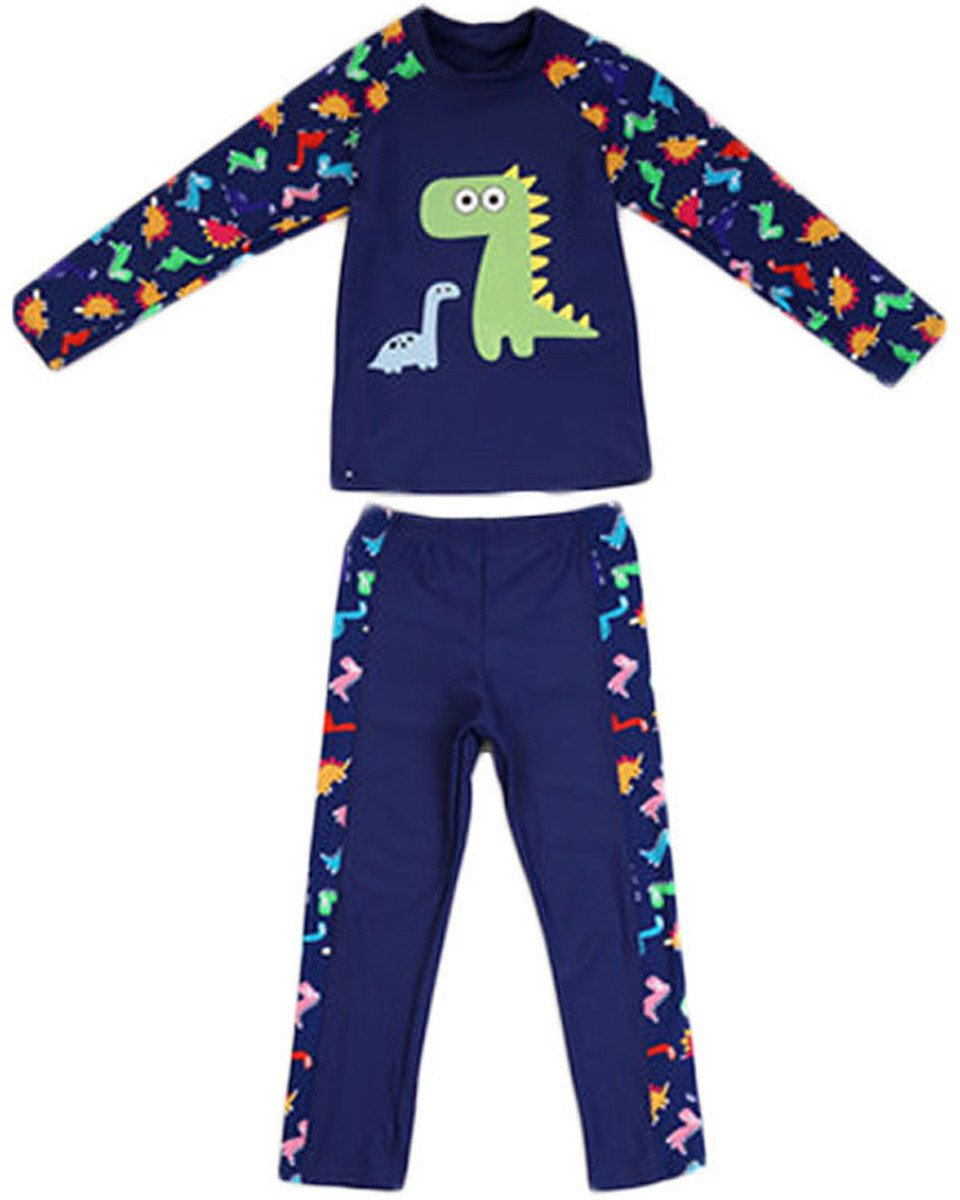 Little Boys Two Pieces Full Body Long Sleeve
