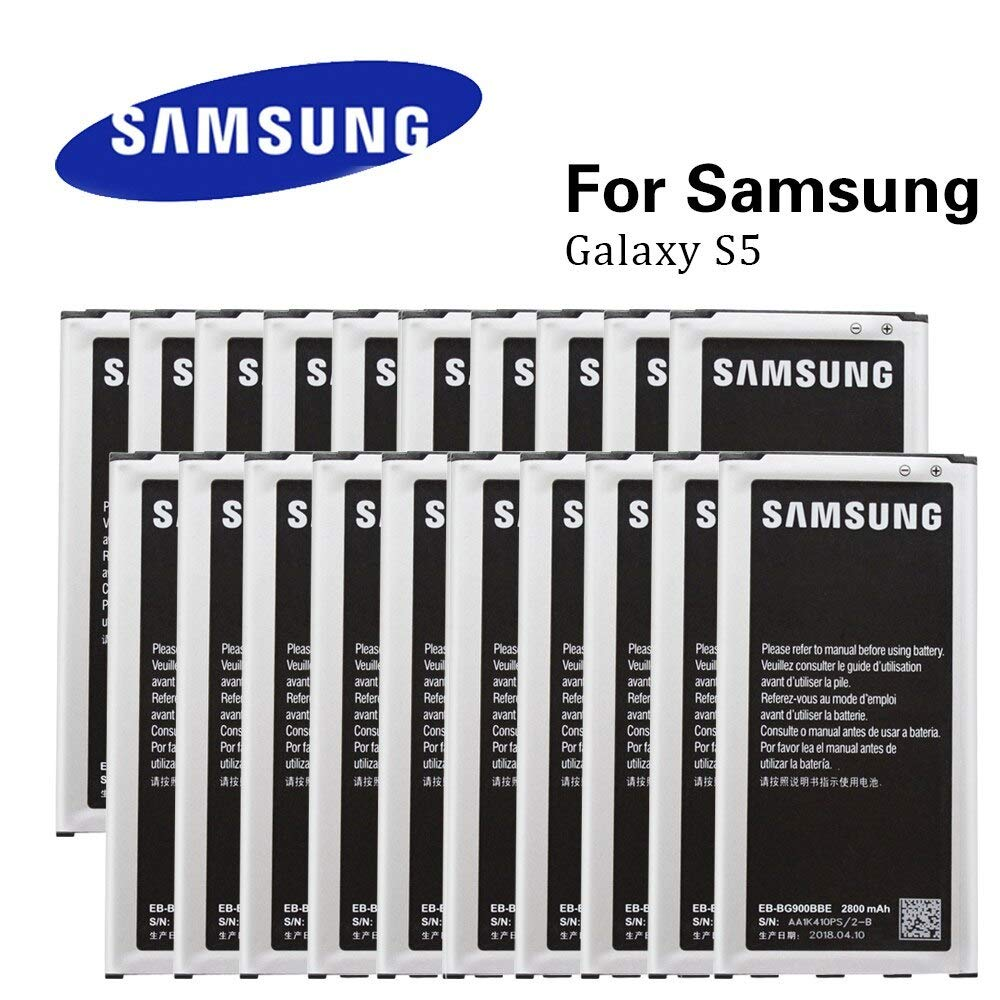 Samsung Galaxy S5 Replacement Batteries EB-BG900BBU / EB-BG900BBZ 2800mAh for all Samsung Galaxy S5 Devices (2 Pac) by Samsung