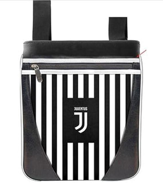 Borsello Piatto uomo FC JUVENTUS borsa in Similpelle squadra calcio JUVE  Nuovo Logo MULTITASCHE abce3420590