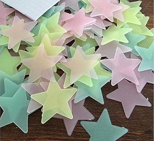 """6 opinioni per Hosaire Adesivi fluorescenti """"stelle"""" 100 adesivi, fluorescenti e brillanti al"""