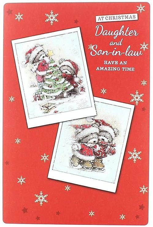 Cards Galore Online Tarjeta de Navidad para Hija con Texto ...