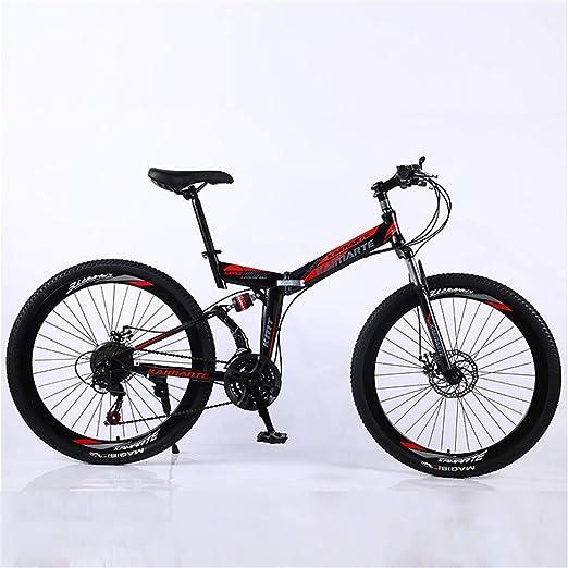 Hörsein Plegado de Velocidad Variable Bicicleta de montaña de 24 ...
