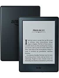 """Kindle E-reader - Black, 6"""" Display, Wi-Fi, Built-In Audible - Includes Special Offers"""