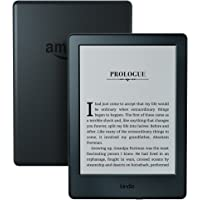 "Kindle E-Reader, 6"" Glare-Free Touchscreen Display, Wi-Fi (Black)"