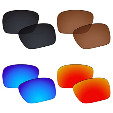 8d44b8d764 Image Unavailable. Image not available for. Color  Galvanic 4 Pairs  Polarized Replacement Lenses for Oakley Holbrook ...