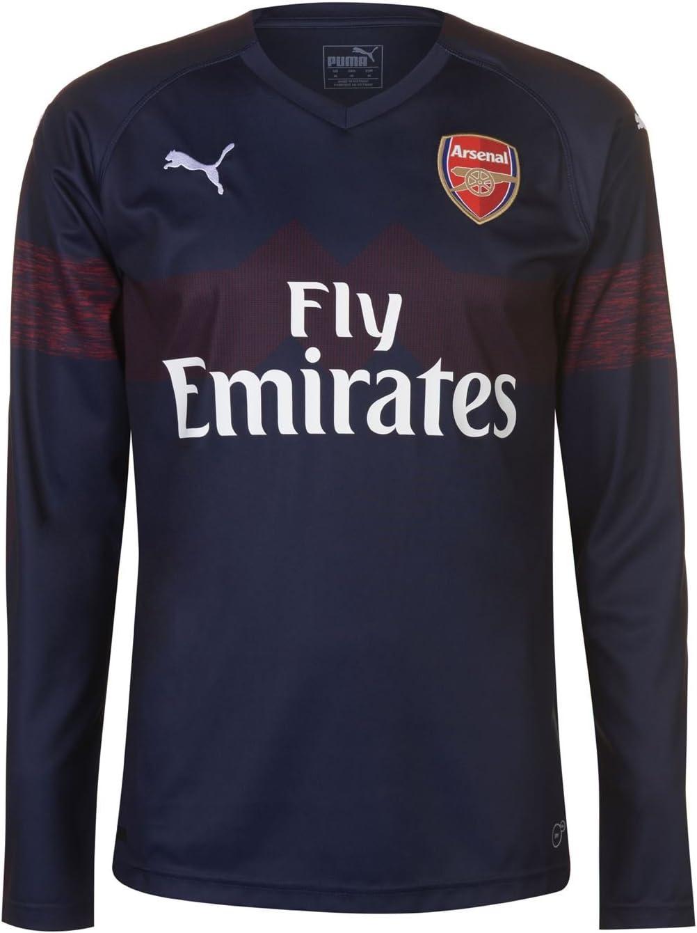 XXL XL Mens Puma Team Long Sleeve Football Sports t-shirt Sizes   L XXXL