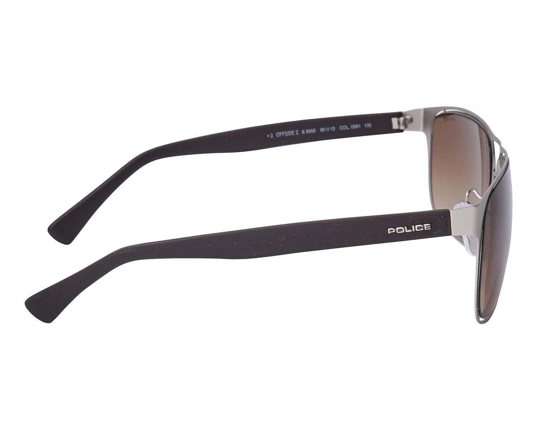 Amazon.com: Gafas de sol de policía Offside 2 (S-8955-M 0581 ...