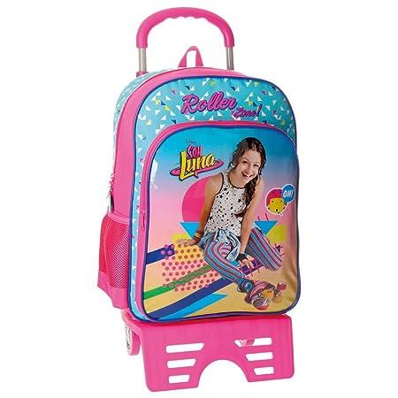 Disney 48523M1 Soy Luna Roller Zone Mochila Escolar, 40 cm, 15.6 Litros, Multicolor: Amazon.es: Equipaje
