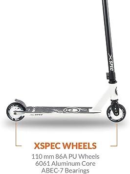 Amazon.com: Xspec Pro Stunt Kick Trick Scooter con cubierta ...