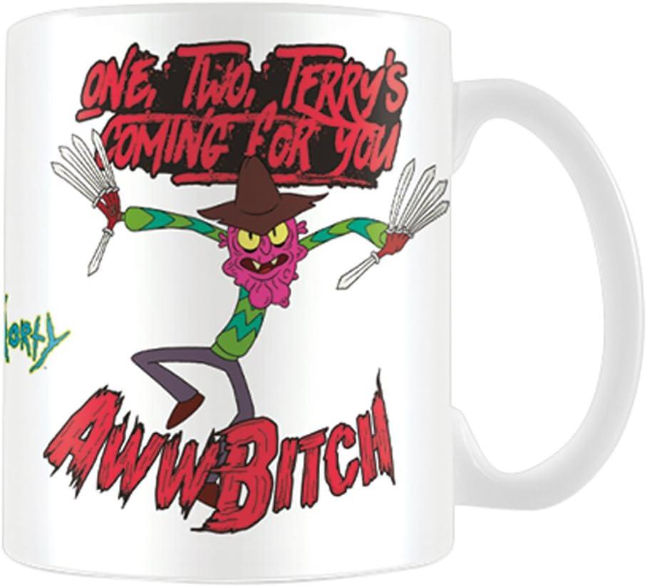 4.5/x 6/cm Multicolore Cartoon Network Morty-pickle Rick en caoutchouc Porte-cl/és