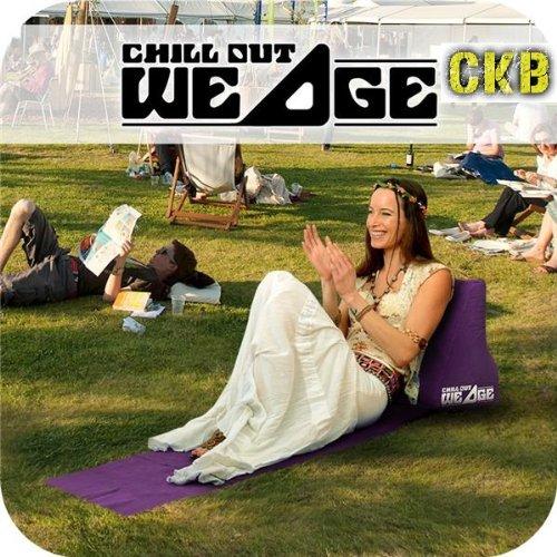 Navy Blue Perfecto para Camping y Festivales CKB Ltd/® Chill Out Portable Travel Inflatable Lounger with Wedge Shape del asiento amortiguador trasero Soporte Pillow silla de Lumbar