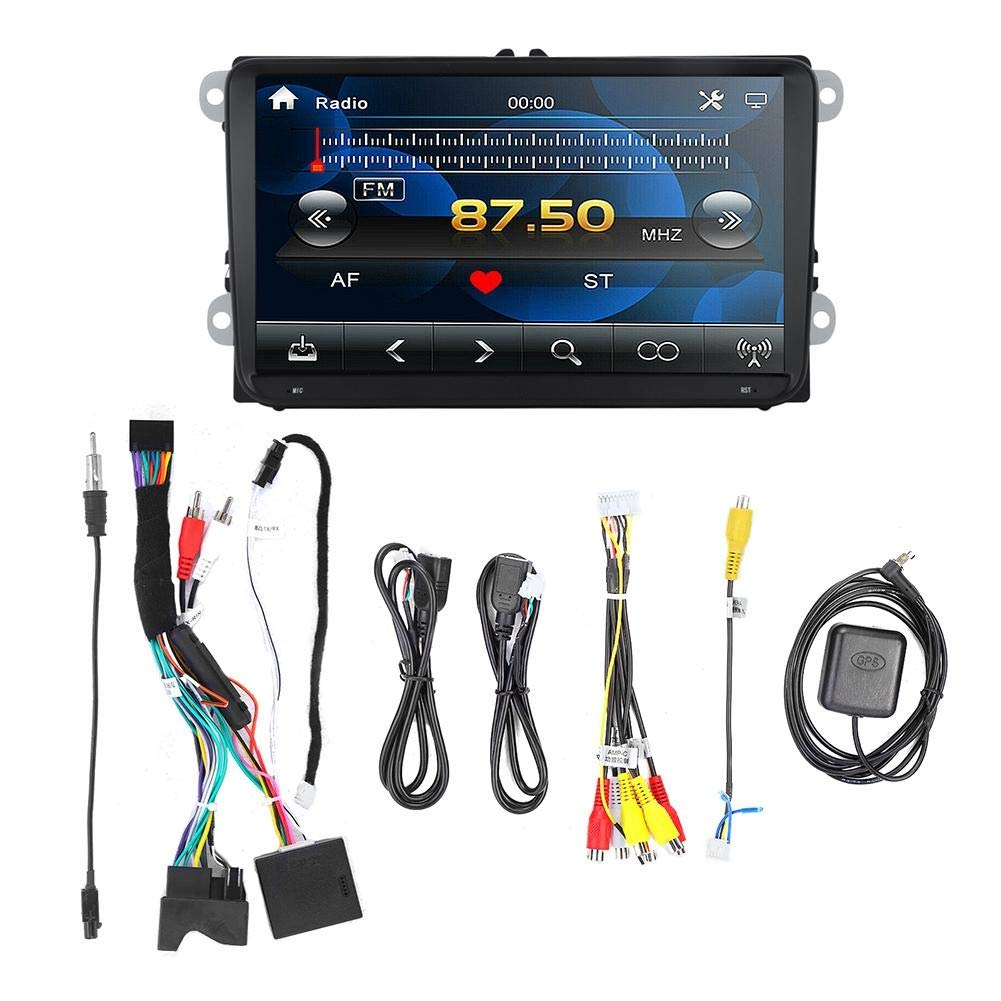 Qii lu 9 Inch 2+16G Car MP5 Player,Smart Portable Touch Screen Multi-function Car GPS Player Android 8.1