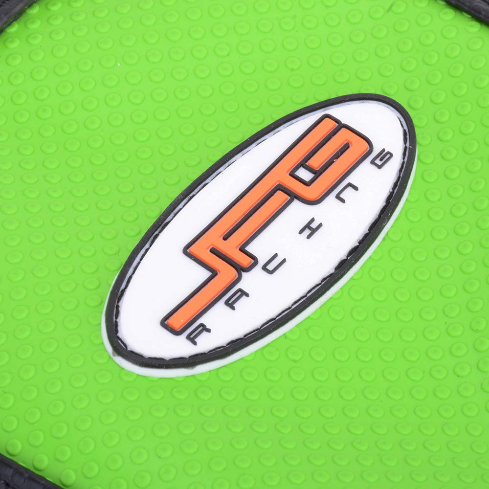 AnXin Gripper Funda Suave para Asiento de Motocicleta Kawasaki KX65 KLX110 00-17 Color Verde
