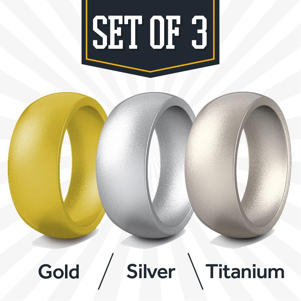 Rubberbanditz Banditoリング 11、標準スタイル B0799DNMJP Bright Silver 11|Bright/ Gun Gold/ Gun Metal 11 11|Bright Silver/ Gold/ Gun Metal, 大輝厨房機器用品:ef1f5c85 --- gallery-rugdoll.com