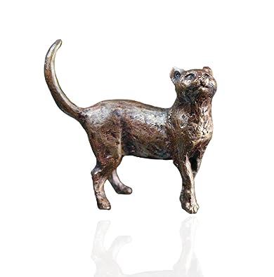 Bronce de gato de pie - BRONCE figuras en miniatura - Butler ...
