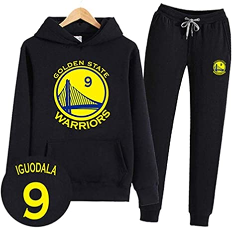 Ldwxxx Camisa con Capucha NBA Camisa con Capucha MVP Fan Jersey Camiseta de Baloncesto Golden State Warrior Stephen Curry/Kevin Durant (Color : Black 9, Size : M): Amazon.es: Hogar
