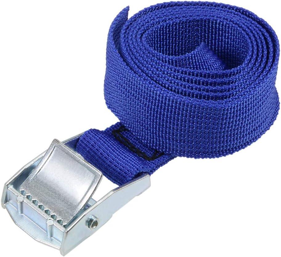 Sourcingmap 250 kg Correa de amarre de carga con hebilla de bloqueo de leva