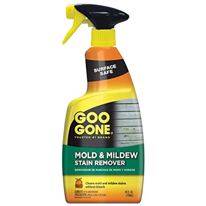 Goo Gone Mold & Mildew Stain Remover 24 fl oz Amazon