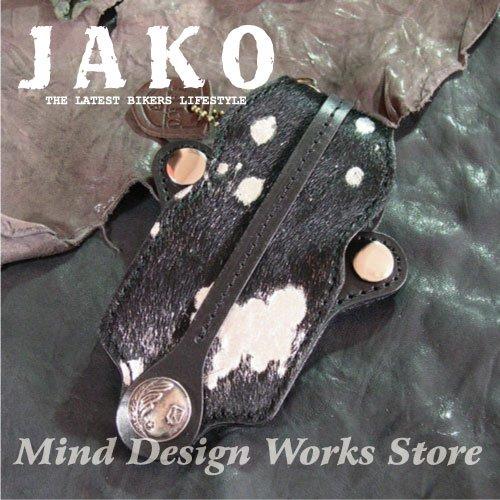 JAKO レザー ダーツケース JK-DC07B DARTS CASE (ジャコ 革小物)  ブラック B0036SDIRU
