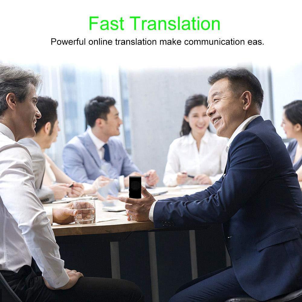 Coffee Smart Sprach/übersetzer Ger/ät lesgos Zwei-Wege-Echtzeit-Instant Offline Intelligent Speech Translator-Unterst/ützung 40 Sprachen f/ür das Lernen von Shopping Travel Business