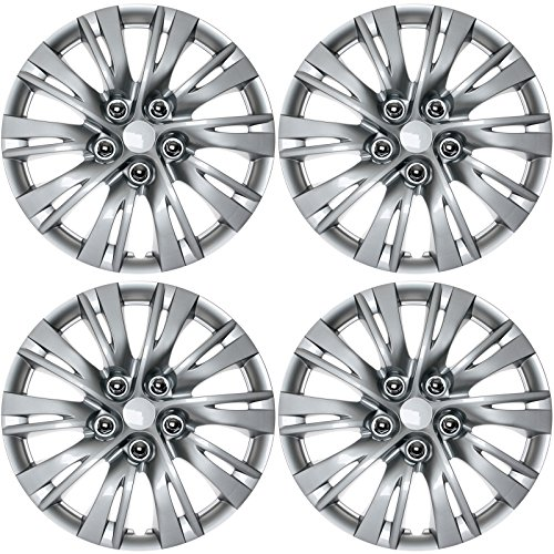 """UPC 742128354602, 4 Pieces OEM Silver ABS Fit 2012 2013 Toyota Camry 16"""" Wheel Cover Hub Cap Hubcap (4)"""