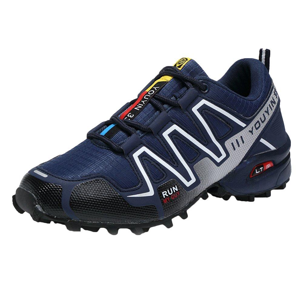 Zapatos Deportivos de Senderismo Todoterreno Exterior para Hombre Zapatos Transpirables de Neta Antideslizante Resistentes al Desgaste Running Fitness Shoes Asian Talla 39-48