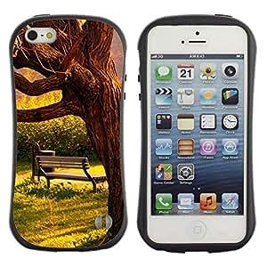 Paccase / Suave TPU GEL Caso Carcasa de Protección Funda para - Sun Warm Meaning Sad Love Romantic - Apple Iphone 5 / 5S
