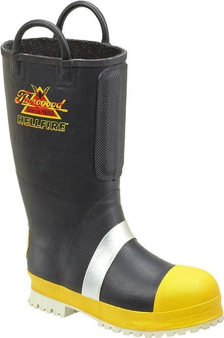 fef8b4f28c8 Women's Thorogood 14 inch Hellfire Rubber Insulated Felt - lined  Firefighting Boots
