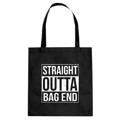 Indica Plateau Straight Outta Bag End Canvas Tote Bag