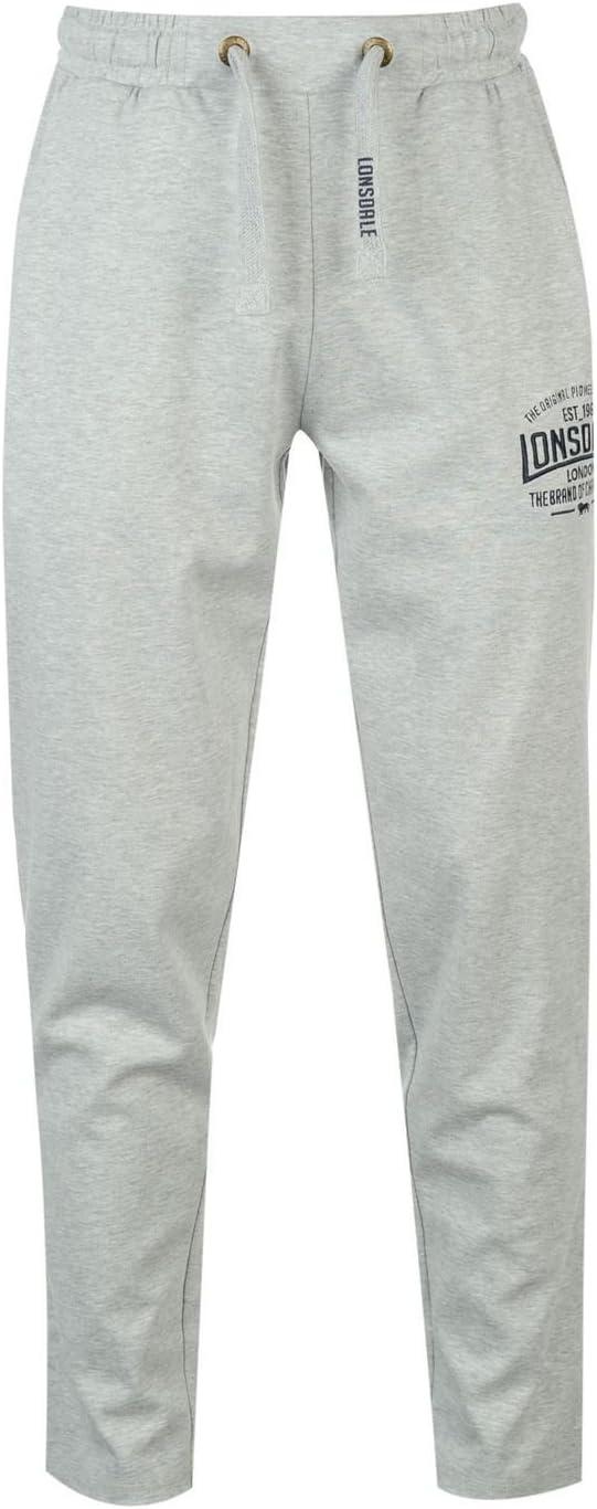 Lonsdale Hombre Box Peso Ligero Pantalones Deportivos: Amazon.es ...