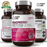 Abundant Health Raspberry Ketone Ultra 500mg with African Mango and Green Tea Weight Loss Supplement, 120 Vegetarian Capsules