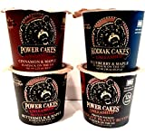 Kodiak Cakes Unleashed, Flapjack on the Go ULTIMATE Variety 4 Pack, 1 cup each of CHOCOLATE & PEANUT BUTTER, BLUEBERRY & MAPLE, CINNAMON & MAPLE, BUTTERMILK & MAPLE, 100% Whole Grain.