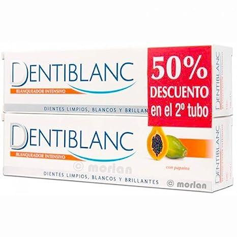 PACK PASTA DENTAL DENTIBLANC BLANQUEADORA 100 ML + REGALO CEPILLO BLANQUEADOR