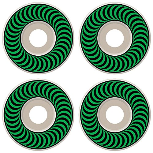 Spitfire Classic Series High Performance Skateboard Wheel (Set of 4) (White, 52 MM) ()