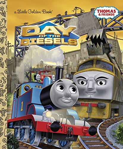 (Day of the Diesels (Thomas & Friends) (Little Golden Book))