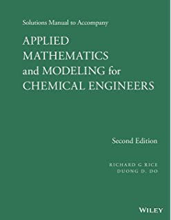 Amazon an introduction to applied statistical thermodynamics solutions manual to accompany applied mathematics and modeling for chemical engineers fandeluxe Image collections