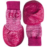 RC Pet Products Sport Pawks Dog Socks, X-Small, Pink Heather