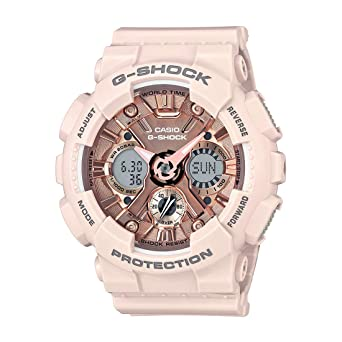 Buy Casio G-Shock S-Series Analog-Digital Rose Gold Dial Women s ... c34e667c43