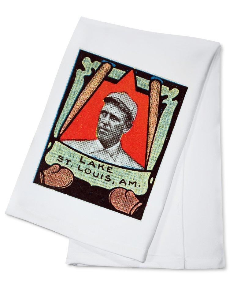 セントルイスBrowns – ジョー湖 – 野球カード Cotton Towel LANT-23102-TL Cotton Towel  B0184BABKK