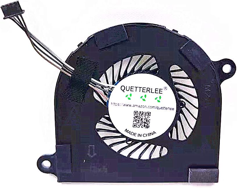 QUETTERLEE Replacement New Laptop CPU Cooling Fan for DELL Latitude 14 7480 7490 7491 Series 02T9GV EG50040S1-C910-S9A Fan