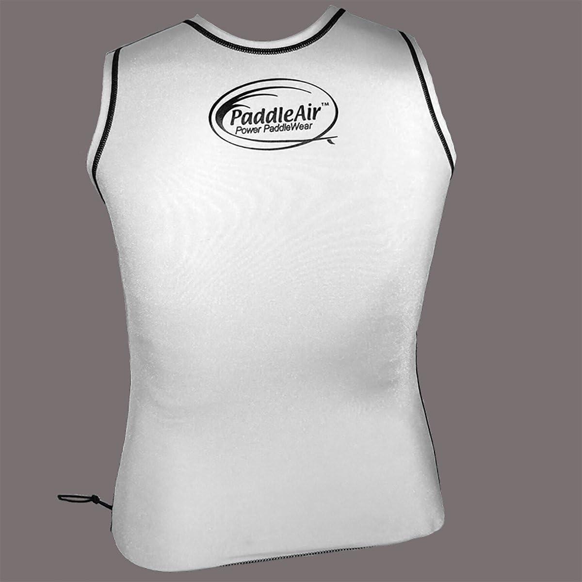 PaddleAir The Rib Rocket Short Sleeve Lycra//Neoprene Black//Slate Gray