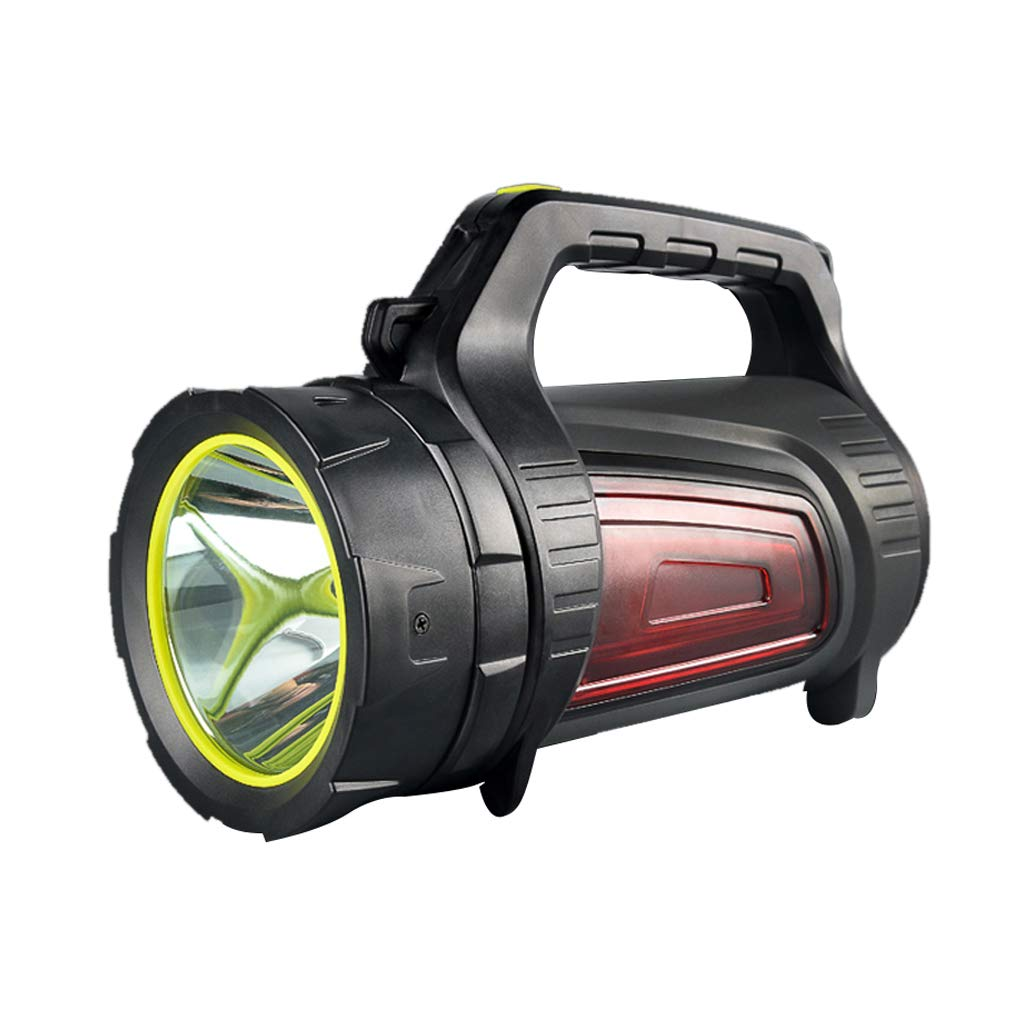 Searchlight Glare Flashlight Long Range Rechargeable Super Bright Home Portable Outdoor Waterproof